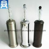 Farbe Toliet Pinsel-Halter der Satin Nikel Chrom-Kugel-3 für Badezimmer