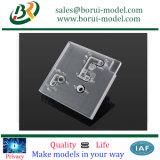 Doorzichtige plastic CNC precisie onderdelen