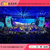 Innenfarbenreiche Bildschirmanzeige LED-P4/Bildschirm/Zeichen für Stadiums-Erscheinen
