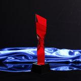 Kristallglas-Trophäe-Fertigkeit für Weihnachtsgeschenk