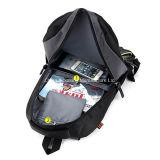 車輪が付いている子供の荷物のトロリー学校のバックパック袋