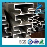 Perfil de alumínio da extrusão T5 da qualidade 6063 do preço mais barato bom para o MDF de Slatwall da inserção