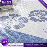 Azulejo de cerámica de la pared del precio bajo de la flor de la mercancía de la venta al por mayor de China para el dormitorio