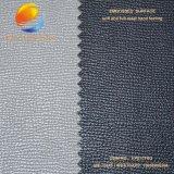 돋을새김된 표면 Fpe17m6g를 가진 단화를 위한 최고 판매 인공적인 PU 가죽