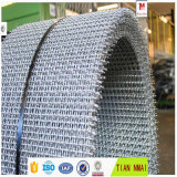最もよい価格の明白な織り方のひだを付けられた金網