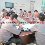 Columna y viga de acero proporcionadas de la fábrica para el material de construcción precio bajo