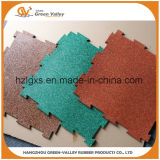 Couvre-tapis en caoutchouc en caoutchouc de verrouillage antidérapage de carrelages pour le tapis roulant