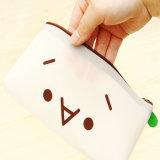 OEMデザイン卸売のかわいいEmoticonの整形防水シリコーンの筆箱