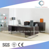 Luxuxmöbel mit seitlicher Schrank-hölzernem Büro-Tisch