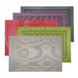 Выдвиженческим Placemat сплетенное тканьем для Tabletop & настила