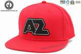 Casquillo plano del Snapback del béisbol de Hiphop del logotipo del bordado 3D modificado para requisitos particulares