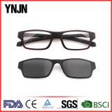 Clip magnétique de Ynjn de bâti promotionnel de polycarbonate sur les lunettes de soleil (YJ-2119)