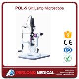 Микроскоп светильника разреза горячего сбывания Pol-5 офтальмический