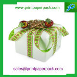 カスタム美しいデザインロゴのクリスマスのギフトの紙箱の宝石類の紙箱の香水ボックス結婚式ボックス