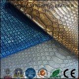 Leer van pvc van het Ontwerp van de manier het Kunstmatige Synthetische voor Zak en Decoratief