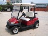 Carrello di golf elettrico di Seater di prezzi poco costosi 2 con il sacchetto di golf