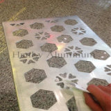Pièces de poinçon d'aluminium pour la décoration