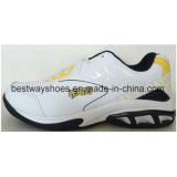 حذاء رياضة أحذية لأنّ رجال مع [بو] جلد فرعة حذاء