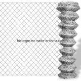 최신 담궈진 직류 전기를 통한 체인 연결 철망사 담 또는 다이아몬드 철망사