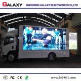 Pantalla de visualización del coche/cartelera móviles al aire libre de P5/P6/P8/P10 para hacer publicidad, acontecimiento, alquiler