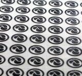DIY su propio silicón del traspaso térmico de la marca de fábrica, insignia del silicón para la escritura de la etiqueta