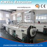 Tubulação do PVC que faz a máquina da extrusora do PVC da máquina
