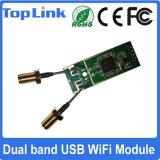 mode doux inclus par USB à deux bandes du réseau WiFi 300Mbps de 802.11A/B/G/N Ralink Rt5572 du support sans fil AP de carte