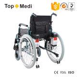 Topmedi perjudicó el peso ligero automático plegable precios eléctricos de la silla de rueda