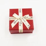 Umweltfreundlicher Geschenk-Verpackungs-Schmucksache-Kasten mit Farbband-Bogen (J60-B1)