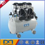 O petróleo não livra nenhum tipo silencioso compressor do pistão do lubrificante de ar pneumático central