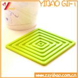 Sottobicchiere personalizzato del silicone per i regali promozionali (YB-n-002)
