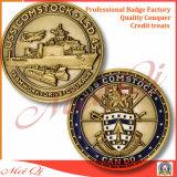 滑稽な真鍮の挑戦硬貨