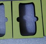 Espuma condutora antiestática da esponja, esponja condutora esponja ativada do carbono