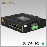 Interruptor industrial portuário elétrico da rede Ethernet de 5 gigabits