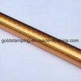 Lámina para gofrar caliente olográfica del laser del oro