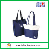 Logo en gros de coutume de sac à provisions de toile