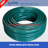 Manguito reforzado fibra flexible plástica verde del agua del PVC 2017