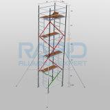Torre de aluminio del andamio