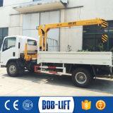 Гидровлический кран нагрузки грузовика тележки заграждения
