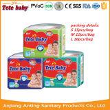 Pannolino superiore del bambino dei prodotti europei del bambino