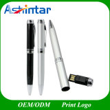 Metal Ball-Point Pen Shape Memory Stick USB Flash Drive