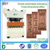 Máquina de imprensa de porta com cilindros hidráulicos