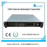 Émetteur optique de modulation externe de Fullwell FTTH CATV 1550nm (FWT-1550EH -2X8)