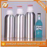 Botella de petróleos esenciales vacía superventas del aluminio de 50ml 100ml