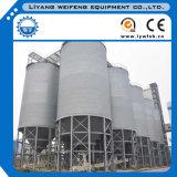 Milho/trigo/soja de aço da alta qualidade que armazena silos com máquina mais seca