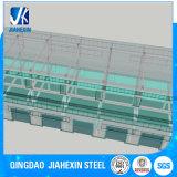 Edificio de acero comercial de la alta calidad