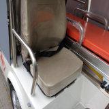 Ambulancia eléctrica elegante para el aeropuerto