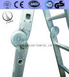 De Multifunctionele Ladder van het aluminium met Professioneel Ontwerp