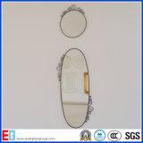 Miroir décoratif clair et coloré d'argent/en aluminium/miroir de rectifier/composent le miroir