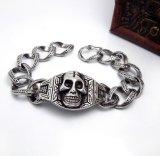Ювелирные изделия панковского способа звезды браслетов людей черепа Titanium стальные